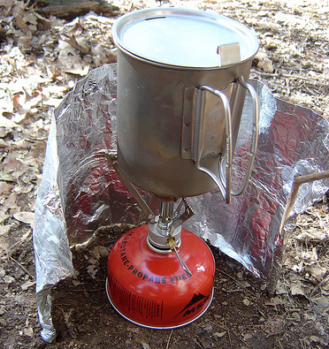backpack stove windscreeen