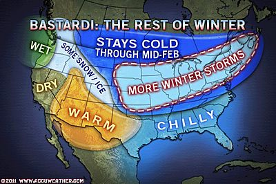 Rest-of-the-Winter Weather Forecast « WinterCampers.com