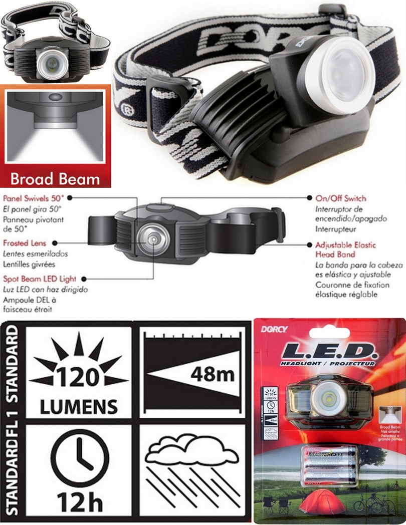 Dorcy 41-2096 Headlamp