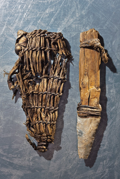 Otzi -dagger-and-sheath