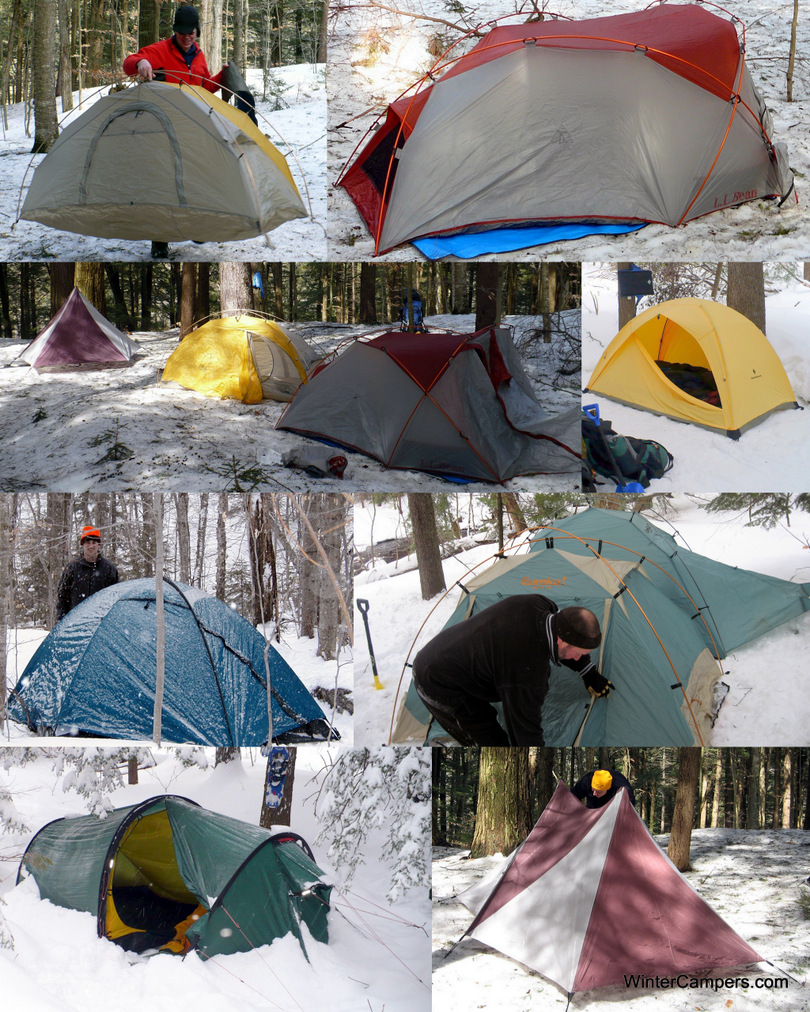 Tents Collage